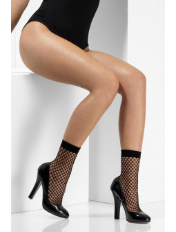 Calcetines de Rejilla Negros