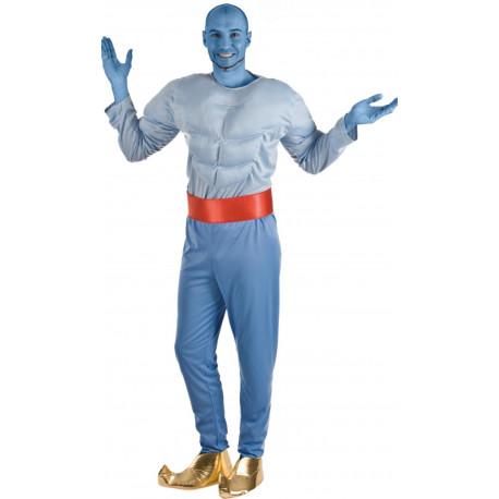Disfraz de Genio Azul para Adulto