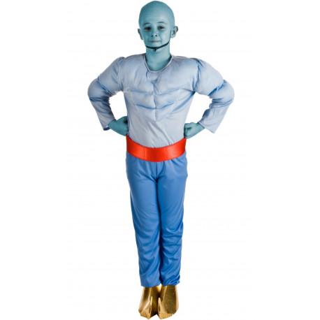 Disfraz de Genio Azul para Niño