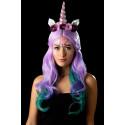 Maquillaje de Unicornio con Gemas y Purpurina