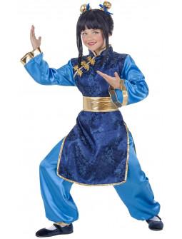 Disfraz de Guerrera China para Niña