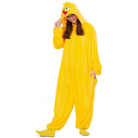 Disfraz de Gallina Caponata Pijama para Adulto