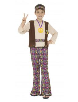 Disfraz de Hippie Pacifista para NIño