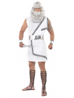 Disfraz de Dios Griego Zeus para Hombre