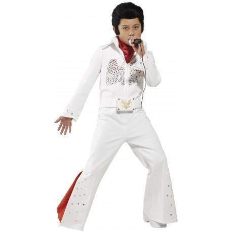 Disfraz de Elvis Presley Rey del Rock para Niño