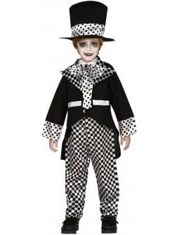 Disfraz de Sombrerero Negro Infantil