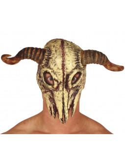 Máscara de Calavera de Cabra de Foam