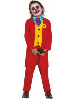 Disfraz de Joker Rojo para Niño