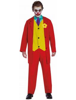 Disfraz de Joker Rojo para Adulto