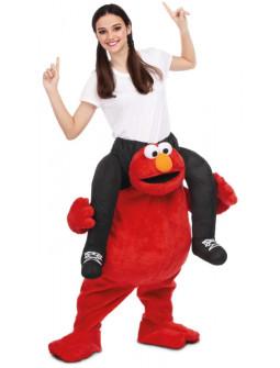 Disfraz de Elmo Barrio Sésamo a Hombros para Adulto