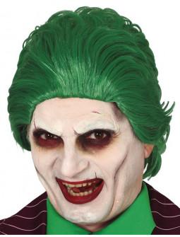 Peluca de Joker Verde para Adulto