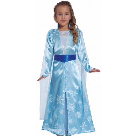 Disfraz de Princesa Elsa para Niña