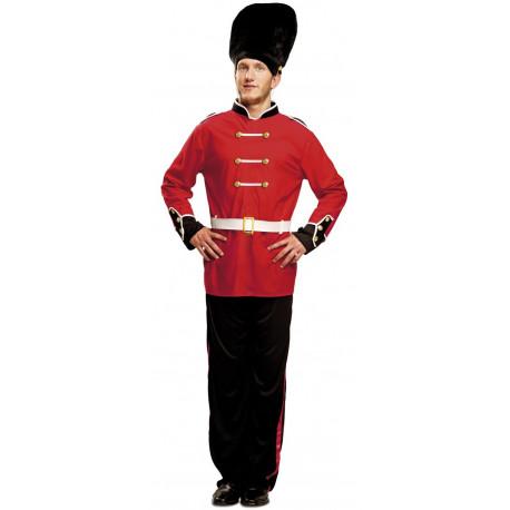 Disfraz de Guardia Inglesa para Hombre