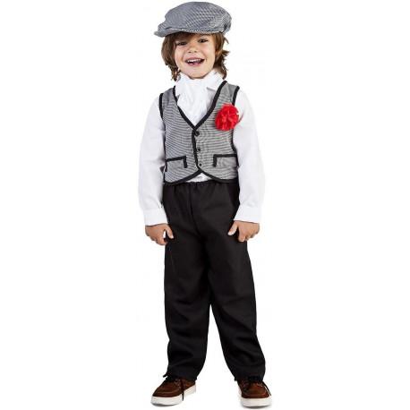 Disfraz de Chulapo con Chaleco Infantil