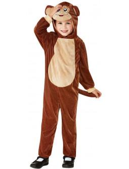 Disfraz de Mono de Peluche Divertido para Bebé