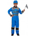 Disfraz de Piloto de Carreras Azul para Niño