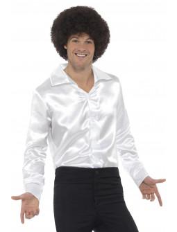 Camisa Disco Blanca para Hombre