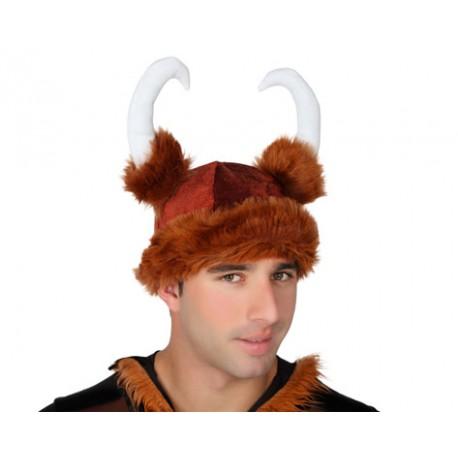 Gorro de Vikingo con cuernos