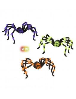 Arañas en tres colores