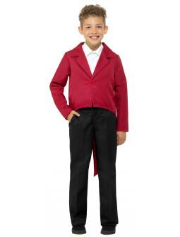 Chaqueta de Frac Roja Infantil