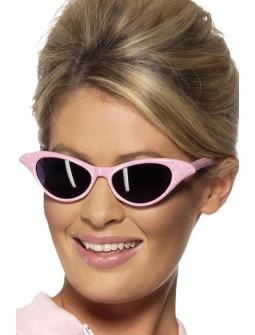 Gafas Pink Ladies Rosas Estilo Años 50