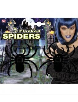 Dos arañas negras - Spiders -