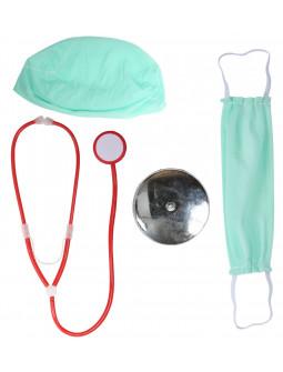 Kit de Disfraz de Médico para Adulto