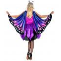 Disfraz de Mariposa con Alas para Mujer