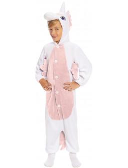 Disfraz de Unicornio Rosa Pijama para Niña