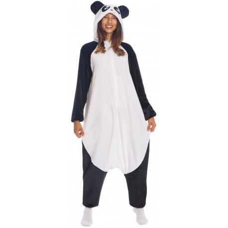Disfraz de Oso Panda Pijama