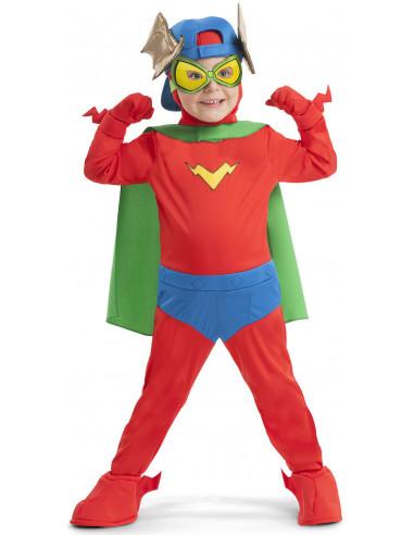 Disfraz de Kid Fury SuperZings Infantil