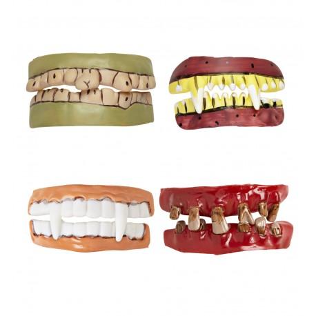 Dentaduras postizas variadas