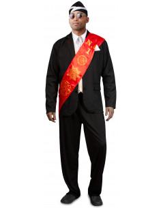 Disfraz de Negro del Ataúd...