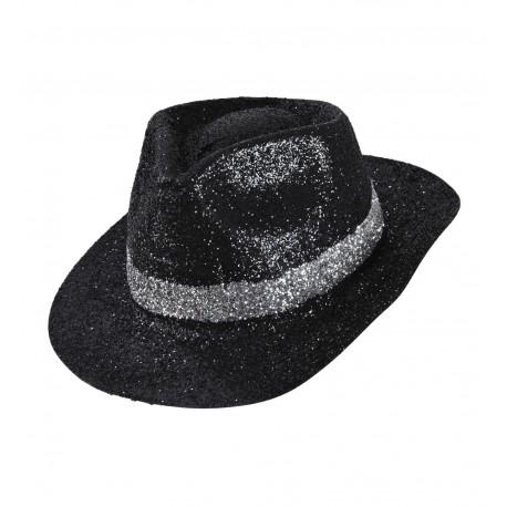 Sombrero de Ganster en Purpurina