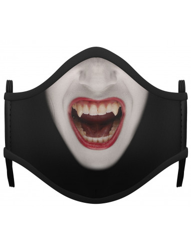 Mascarilla de Vampiresa Infantil