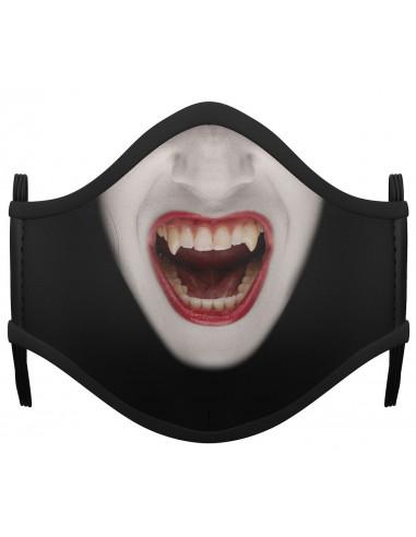 Mascarilla de Vampiresa para Adulto