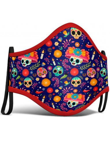 Mascarilla de Muerte Mexicana para...
