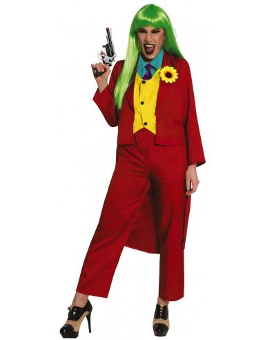 Disfraz de Joker Rojo para Mujer