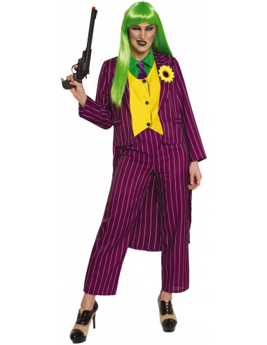 Disfraz de Joker Villana para Mujer