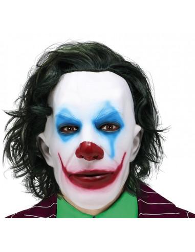 Máscara de Joker con Pelo