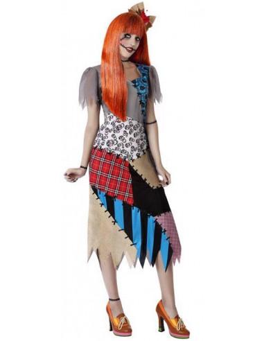 Disfraz de Muñeca Sally para Mujer