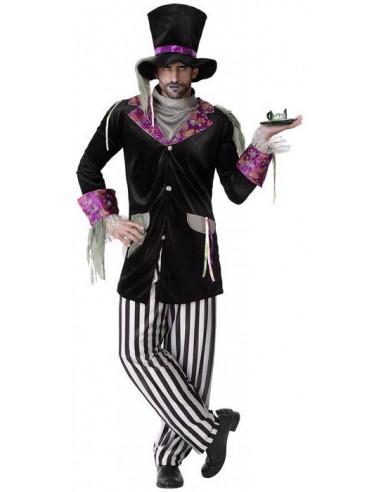 Disfraz de Sombrerero Zombie para Hombre