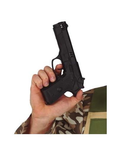 Pistola de Policía Negra