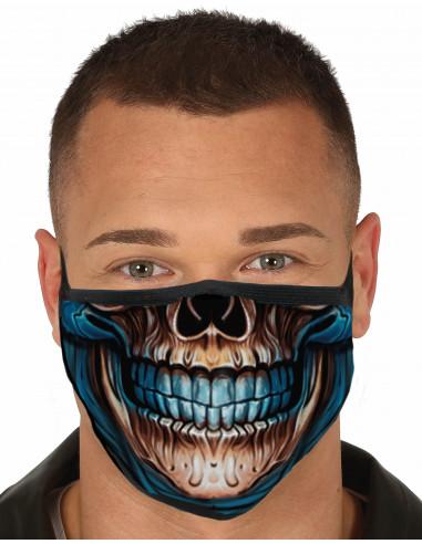 Mascarilla de Esqueleto Tétrico para...
