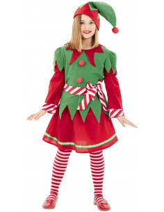 Disfraz de Elfa de Navidad...