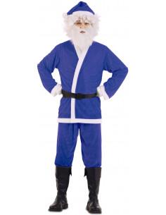Disfraz de Papá Noel Azul...
