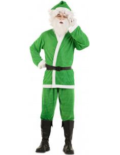 Disfraz de Papá Noel Verde...