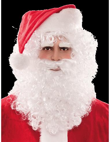 Peluca de Santa Claus con Barba y Cejas