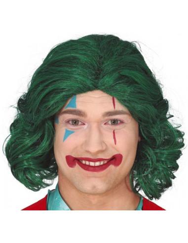 Peluca de Joker Verde Larga