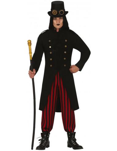Disfraz de Vampiro Steampunk para Hombre